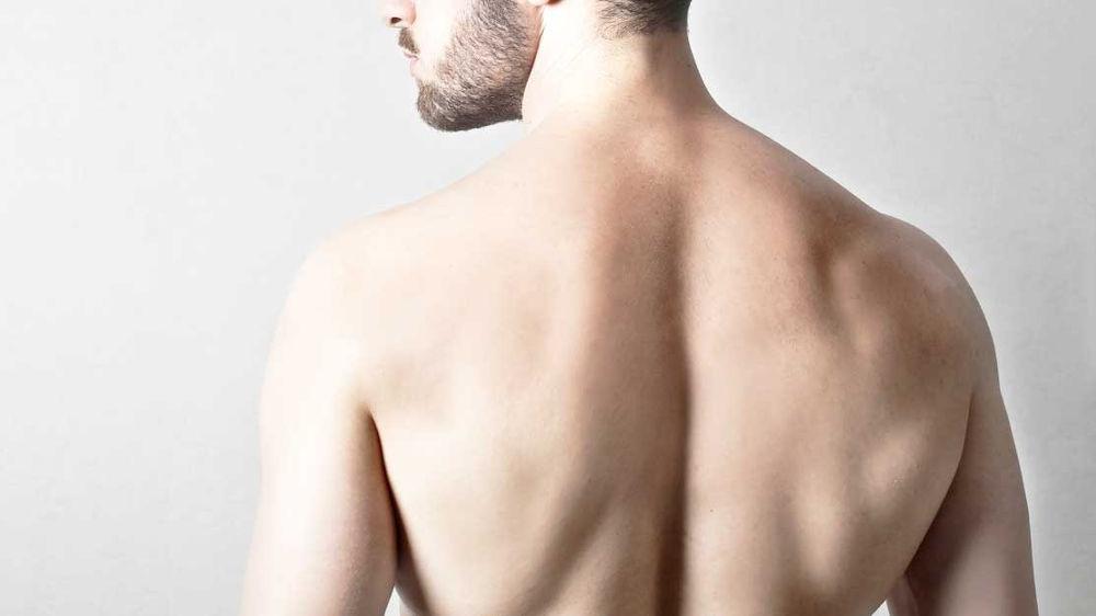 Depilación masculina espalda Madrid | Clínica Estética Teresa Nieto Madrid